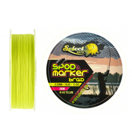 Select Baits Spod and Marker X8 Braid Hi-Viz Yellow 0.20mm