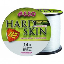 Asso Hard Skin Solid White 0.22mm 2400m