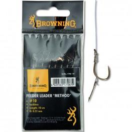 Browning Feeder Leader Boilie Pin no.10 0.22mm, -baitshop