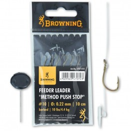 Browning Feeder Leader Push Stop no.10 0.22mm, -baitshop