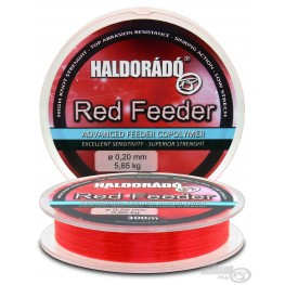 Haldorado Red Feeder 0.20mm 300m, -baitshop