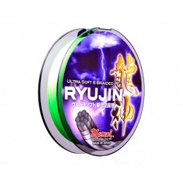 Momoi Ryujin PE Braided Lime Green 130m 0.08mm, -baitshop