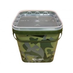 Bait-Tech Camo Bucket 5L