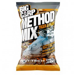 Bait-Tech Big Carp Method Mix Tiger&Peanut