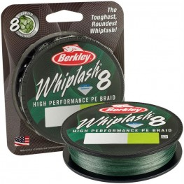 Berkley Whiplash 8 Green 0.20mm, -baitshop