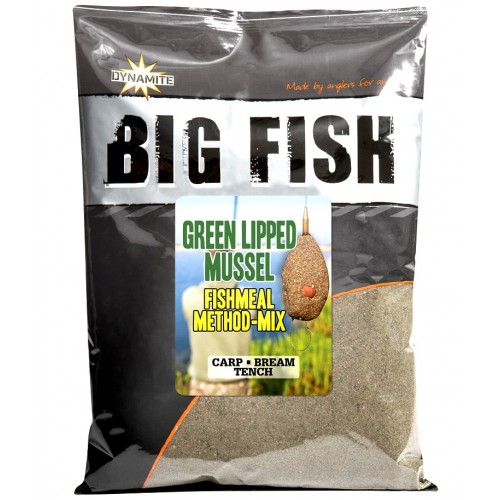 Dynamite Baits Big Fish Green Lipped Mussel Method Mix, -baitshop