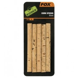 Fox Edges 6mm Cork Sticks, -baitshop