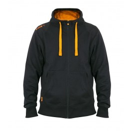 Fox Black&Orange Lightweight Zipped Hoody L