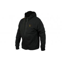Fox Collection Black&Orange Sherpa Hoody XL