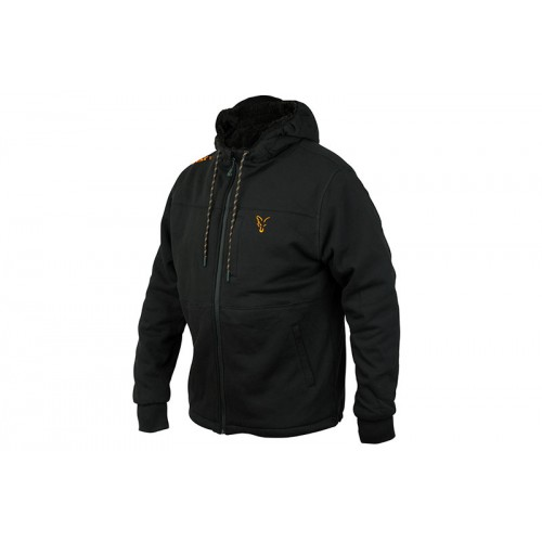 Fox Collection Black&Orange Sherpa Hoody XL, Fox International-baitshop