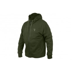 Fox Collection Green&Silver Sherpa Hoody S