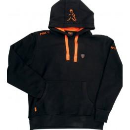 Fox Chunk® Black&Orange Hoodie, -baitshop