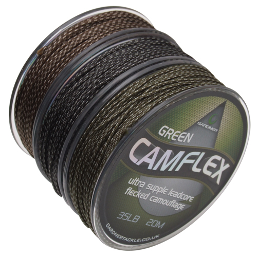 Gardner Camflex Leadcore 45lb/20m, -baitshop