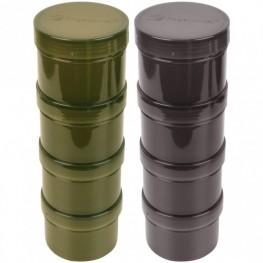 Ridgemonkey Modular Hookbait Pots Black, -baitshop