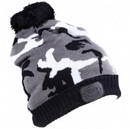 Ridgemonkey Camo Bobble Hat Black-White, -baitshop