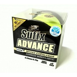 Sufix Advance - Hyper Copolymer 0.23mm 1000m